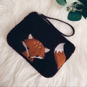 Fuzzy Fox Wristlet Clutch 🦊